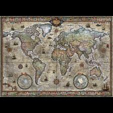 Map Art: Retro World -
