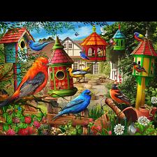 Birdhouse Garden -