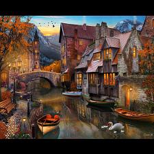 Autumn Canal -