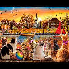 Dockside Cats -