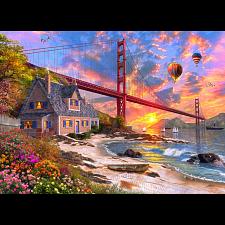 Golden Gate Sunset -
