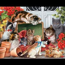 Garden Cats -