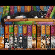Cat Bookshelf -
