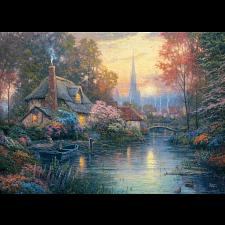 Thomas Kinkade: Nanette's Cottage - New Items