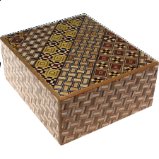 Wide 14 Step Koyosegi / Kuzushi - Other Japanese Puzzle Boxes
