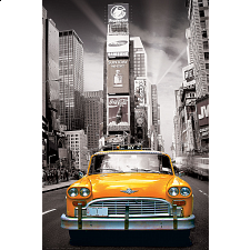 City Collection: New York City - Yellow Cab -
