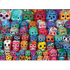 Traditional Mexican Skulls -