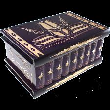 Romanian Puzzle Box - Extra Large Purple -