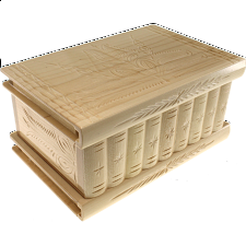 Romanian Puzzle Box - Extra Large Natural -