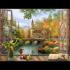 Autumn Church -