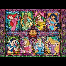 Disney Fine Art: Princess Collage -