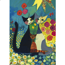 Rosina Wachtmeister: Flowerbed - 1000 Pieces
