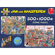 Jan van Haasteren Comic Puzzles: Let's Party 2-in-1 - Search Results