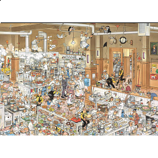 Jan van Haasteren Comic Puzzle - The Kitchen (500 XL Pieces) - Search Results