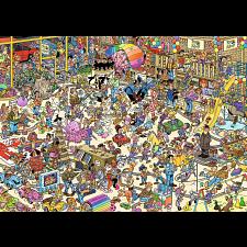 Jan van Haasteren Comic Puzzle - The Toy Shop -