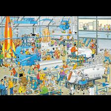 Jan van Haasteren Comic Puzzle - Technical Highlights -