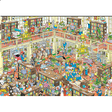 Jan van Haasteren Comic Puzzle - The Library - Search Results