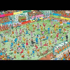 Jan van Haasteren Comic Puzzle - WC Women's Soccer -