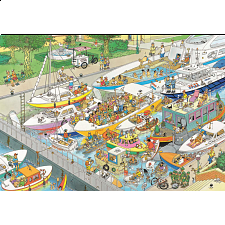 Jan van Haasteren Comic Puzzle - The Locks (2000 Pieces) -