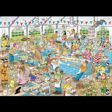 Jan van Haasteren Comic Puzzle - Clash of the Bakers -