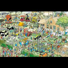 Jan van Haasteren Comic Puzzle - Farm Visit -