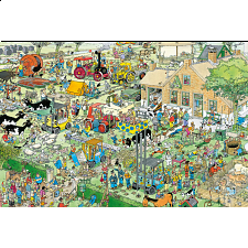 Jan van Haasteren Comic Puzzle - Farm Visit - Search Results