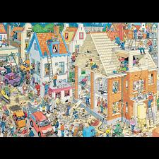 Jan van Haasteren Comic Puzzle - The Building Site -