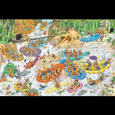 Jan van Haasteren Comic Puzzle - Wild Water Rafting -