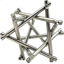Nova Plexus - Stainless Steel - Other Wire / Metal Puzzles
