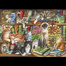 Puss in Books -