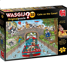 Wasgij Original #33: Calm on the Canal -