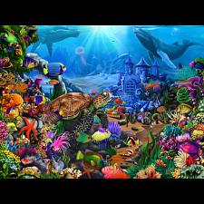 Magical Undersea Turtle -