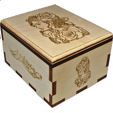 Belle Puzzle Box - Other Wood Puzzles