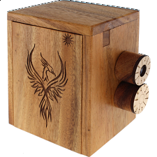 OT OverTime Box: Series II - Phoenix - Wooden Puzzle Boxes