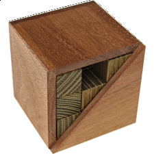 Triangle Cube 3 - European Wood Puzzles