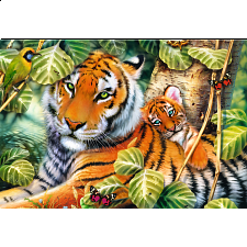 Two Tigers - 1001 - 5000 Pieces