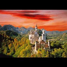 The Neuschwanstein Castle, Bavaria - 1001 - 5000 Pieces