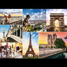 Magic of Paris - Collage - 1001 - 5000 Pieces