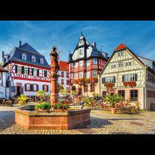 Market Square, Heppenheim, Germany - 1001 - 5000 Pieces