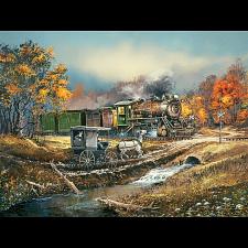 Blaylock - Amish Train Puzzle - 750 pieces -