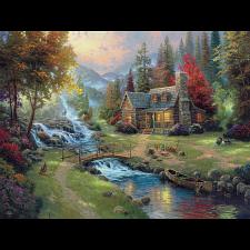 Thomas Kinkade: Mountain Paradise - 1001 - 5000 Pieces