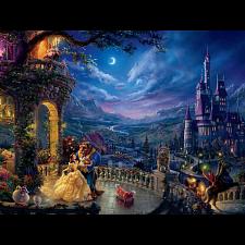 Thomas Kinkade: Disney - Beauty and the Beast Dancing - 1001 - 5000 Pieces