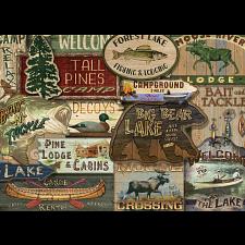 Rustic Lodge: Lodge Signs -