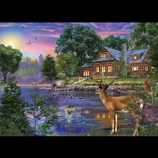 Weekend Retreat: White Tail Deer Lakehouse -