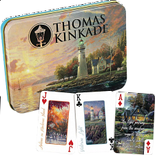Thomas Kinkade Deluxe Playing Cards -