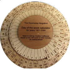 Doomsday Day of the Week Calculator -