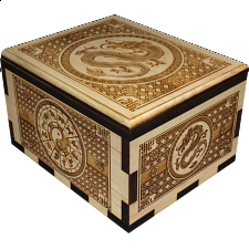 Hurricane Puzzle Box - Dragon -