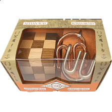 Roman Mini 2 Pack Puzzles: Appian Way & Roman Arches -