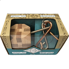 Greek Mini 2 Pack Puzzles: Mosaic Tile & Grecian Javelin -