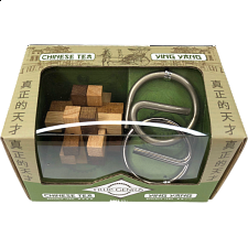Chinese Mini 2 Pack Puzzles: Chinese Tea & Ying Yang -